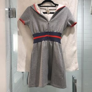 Free People Sweatshirt Dress Short Sleeve Size S